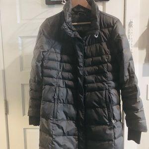 Lole size L gray puffy coat